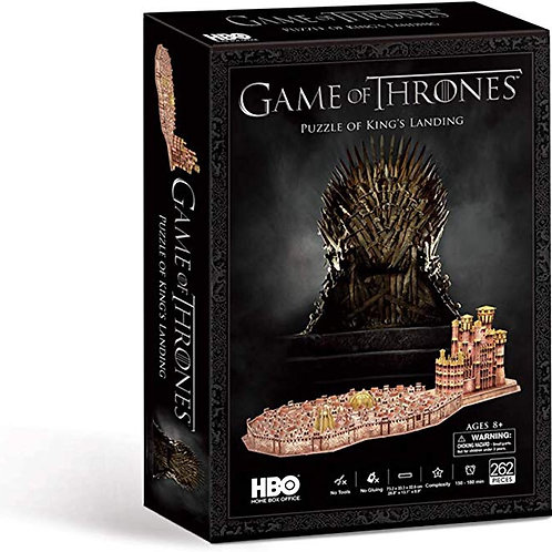 Game of Thrones 3D Puzzle Kings Landing
