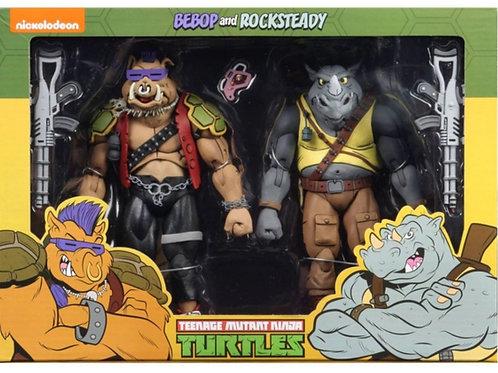 Teenage mutant hero turtles 2 pack bebop and rocksteady
