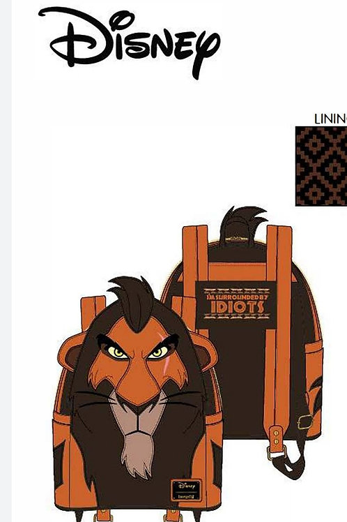 Loungefly disney lion king scar cosplay mini backpack pre-order