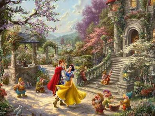 Snow White Dancing 1000 piece Puzzle