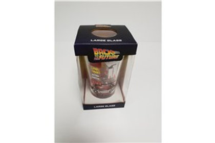 Back to the Future Glass