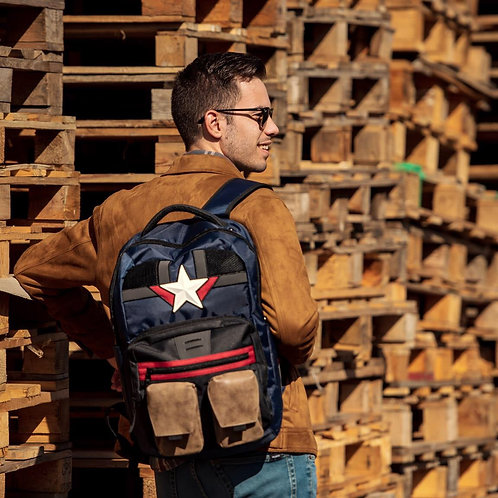 Marvel Captain America Casual Backpack