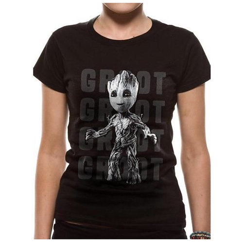 Groot Fitted Ladies T-Shirt
