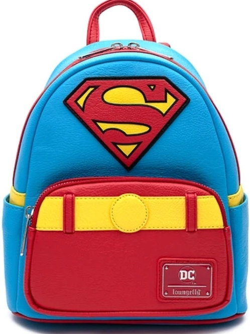 Loungefly DC Comics Classic Superman Cosplay Backpack