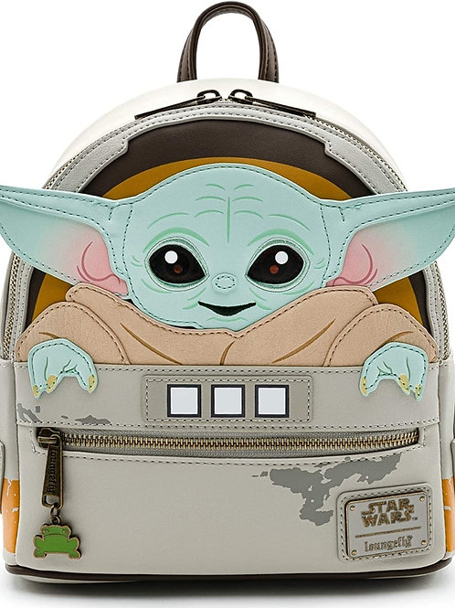 Loungefly Star Wars The Mandalorian Baby Yoda The Child Backpack