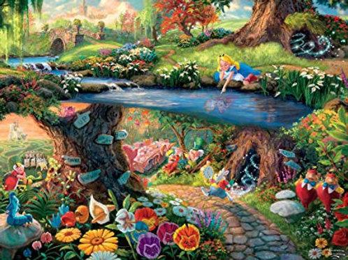 Alice in Wonderland 1000 piece puzzle