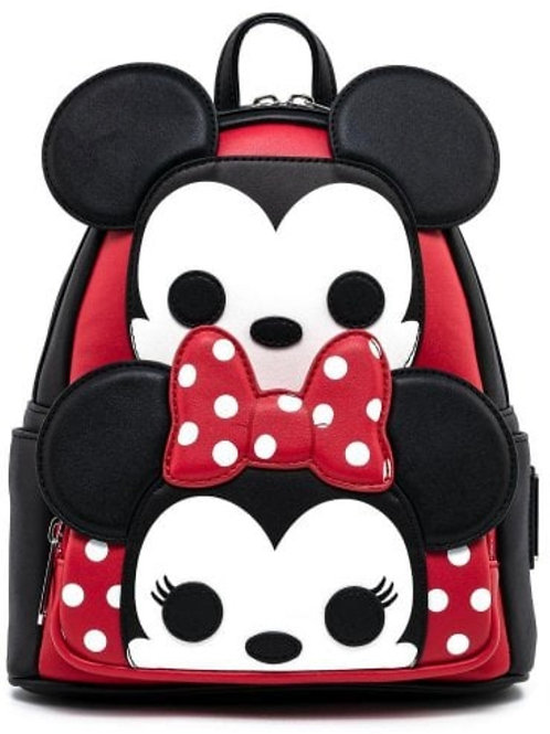 Loungefly disney mickey and minnie cosplay mini backpack