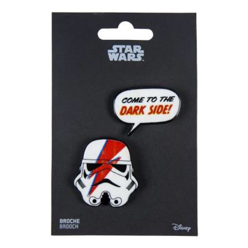 Star Wars Set Of Two Stormtrooper Brooches
