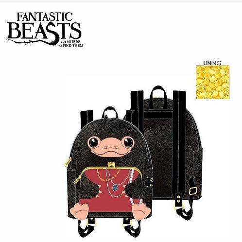 Loungefly fantastic beasts niffler plush mini backpack