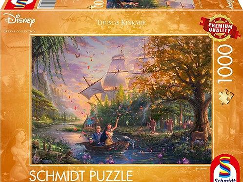 DISNEY POCAHONTAS 1000pcs Puzzle