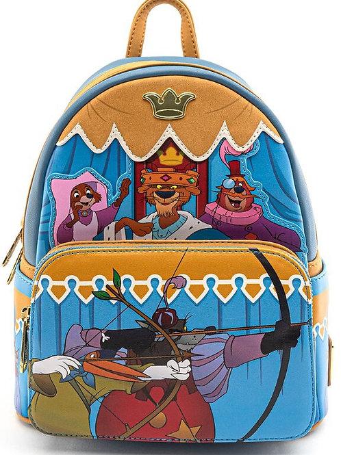 Loungefly Disney Robin Hood archery tournament mini backpack