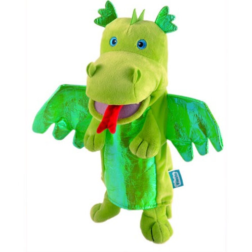 Green Dragon Hand Puppet