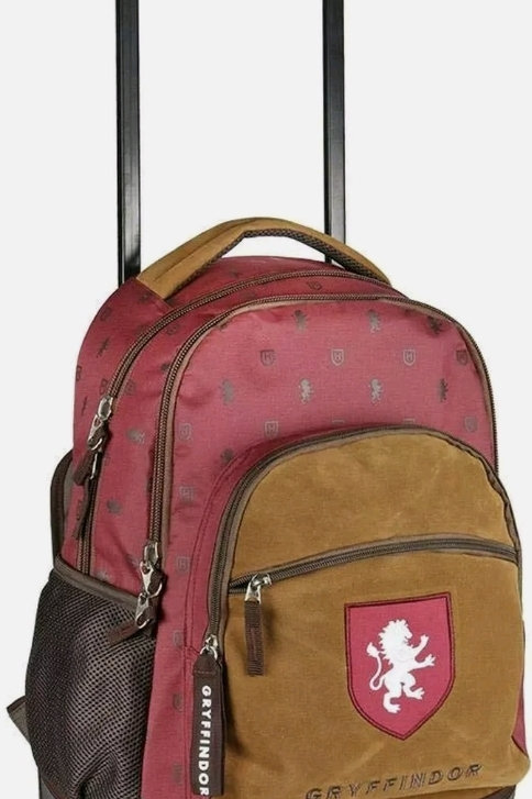 Creda Harry potter Gryffindor back pack with wheels
