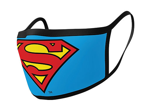 Superman Face Coverings Set of 2