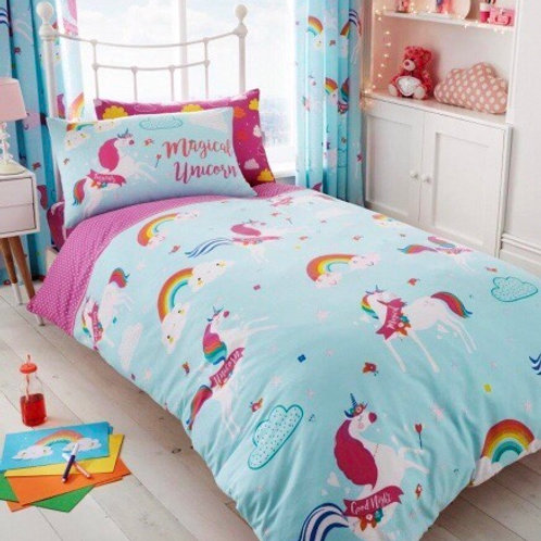 Single Unicorn Duvet Set