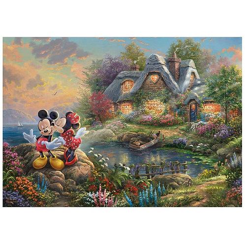 Disney Thomas Kinkade Mickey Mouse Puzzle