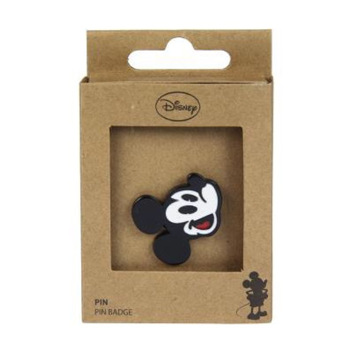 Disney Mickey Mouse Smiling Face Pin Badge