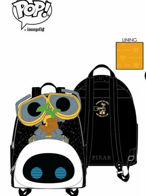 POP BY LOUNGEFLY PIXAR WALL-E EVE BOOT EARTH DAY COSPLAY MINI BACKPACK PRE ORDER