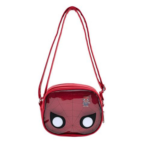 Loungefly Spiderman Crossbody Pin Collector Bag