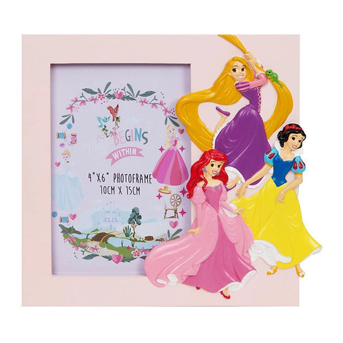 Disney Princess Frame Rapunzel, Snow White and Ariel