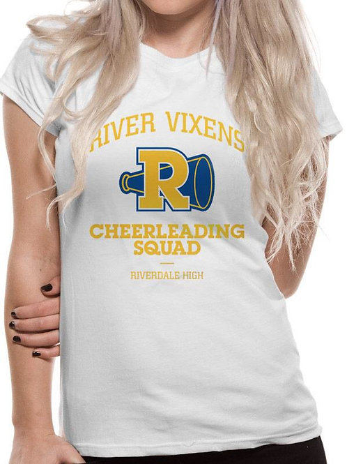 Riverdale Cheerleading Fitted Ladies T-Shirt