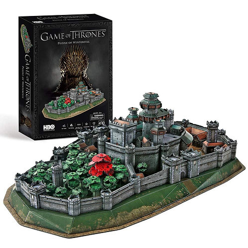 Game of Thrones 3D Puzzle Winterfell