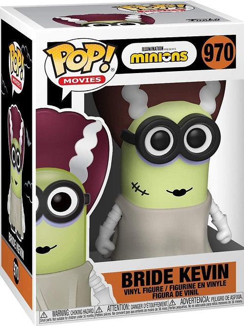 Minions halloween Bride Kevin funko pop