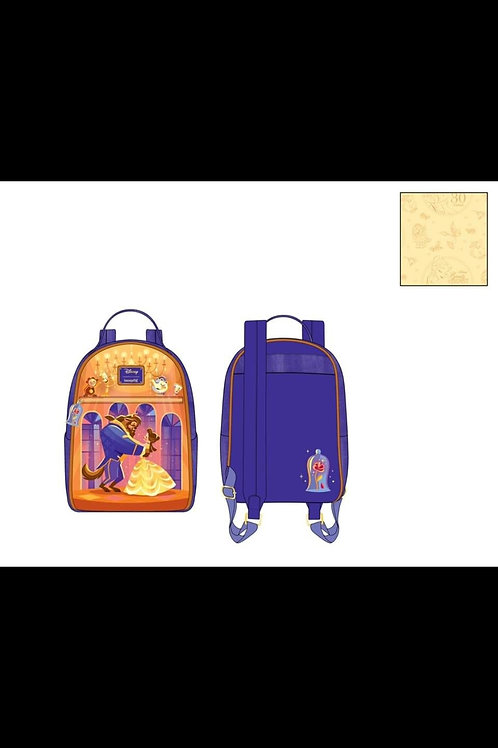 LOUNGEFLY DISNEY BEAUTY AND THE BEAST BALLROOM SCENE MINI BACKPAC pre-order june