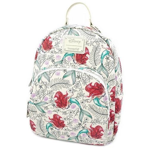 Loungefly Disney Ariel AOP Backpack