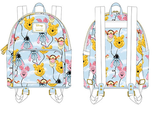 April Pre Order Loungefly Winnie the Pooh Backpack