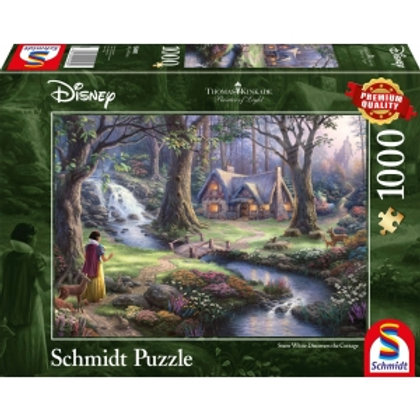 Snow White Cottage 1000pcs Puzzle