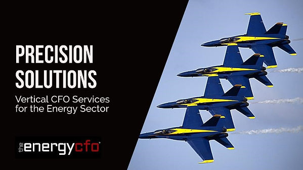 The Energy CFO Precision Solutions Verti