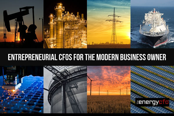 The Energy CFO Entrepreneurial CFOs for
