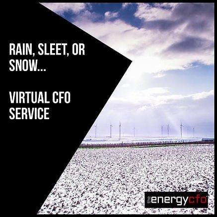 The Energy CFO Virtual CFO Services Rain