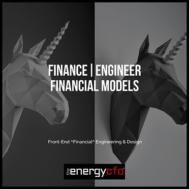The Energy CFO Taking Financial Modeling