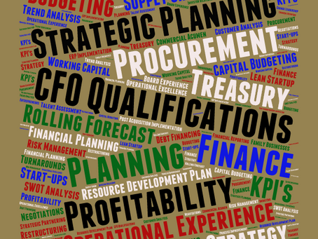 What is a CFO's Qualifications?
