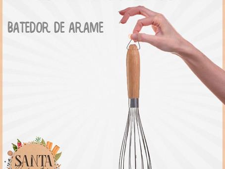 Utensílios tem-que-ter na cozinha: batedor de arame ou fouet!