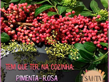 Pimenta-Rosa, a mais linda das especiarias