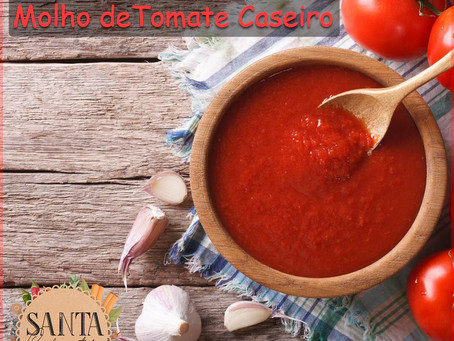Receita Molho de Tomate Caseiro