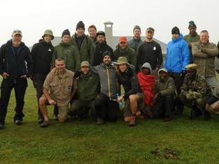 Filming Safari Crews & Production Team