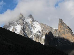Trekking: Mt. Kenya Peaks