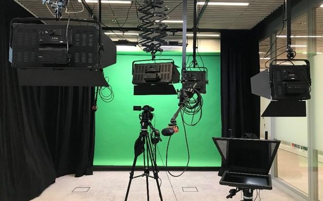 Videoproduktionsraum - Richtung 02_Green