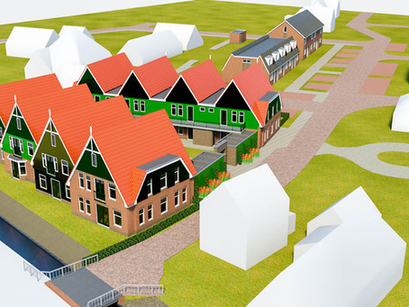 Ontwikkelovereenkomst getekend. Grote bouwplannen in Abbekerk.
