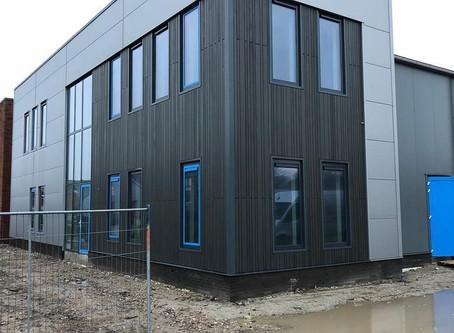 Nieuwbouw bedrijfsruimte D. Koper BV te Wervershoof
