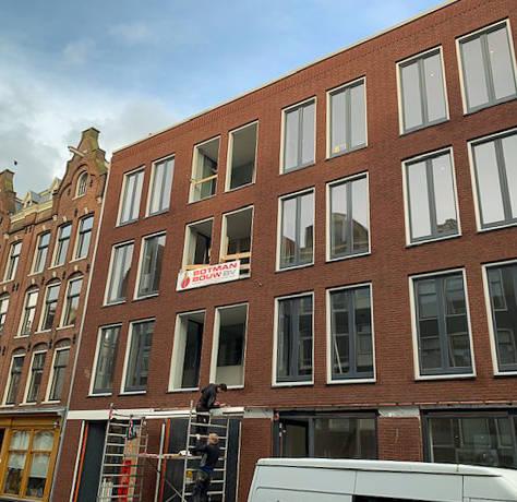 Appartementen Willemsstraat te Amsterdam