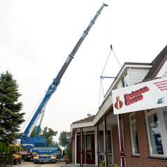 Verbouw achterzaal Cafe t Fortuin te Wervershoof