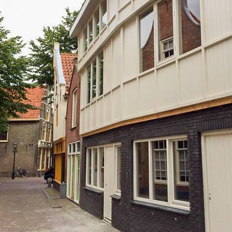 Kantoor met appartementen te Alkmaar