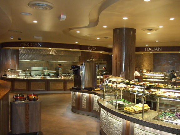 Hard Rock Casino buffet