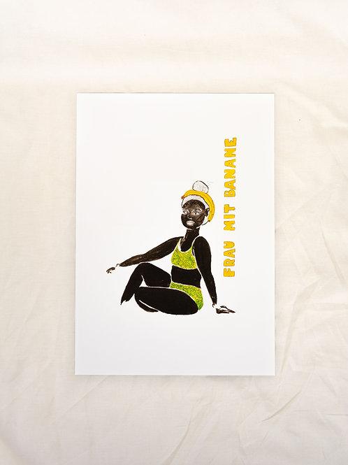Woman with Banana