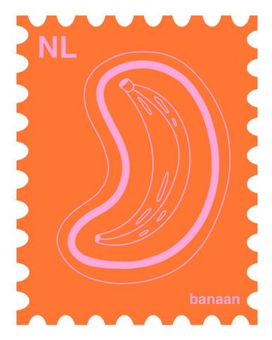 banana stamp